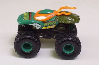 Turtles Monster Jams Truck Hot Wheels Small Tire Version 1 64