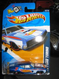 Hot Wheels 2012 HW Racing 70 Ford Torino New Release
