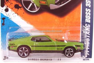 Hot Wheels 71 Mustang Boss 351 2011 New