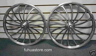 BMX Bike Bicycle 20X2 125 Rear Front Wheels Rims Set