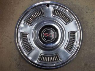 1967 67 Chevrolet Chevelle SS Super Sport Hubcap Rim Wheel Cover Hub