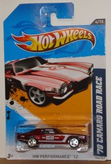 Hot Wheels 2012 Super Treasure Hunt 70 Camaro Road Race