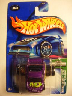 HOT WHEELS BLUE CARD CARD 078 2004 1ST EDITIONS 78 100 FATBAK TOYOTA