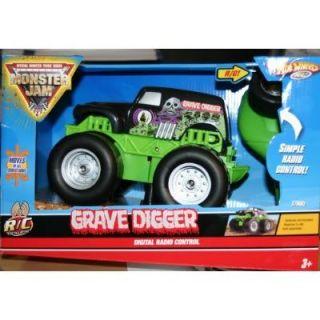 Hot Wheels Grave Digger Remote Radio Control Car R C