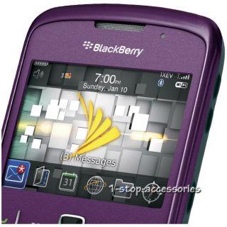 Purple Sprint Blackberry Curve 8530 Smartphone Good ESN