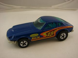 Hot Wheels 70s 80s Era Z Whiz Light Blue Malaysia Light Glass
