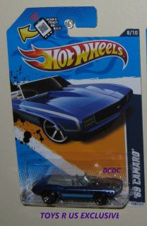 HOT WHEELS 69 CAMARO CONVERTIBLE MUSCLE MANIA GM TOYS R US EXCLUSIVE B