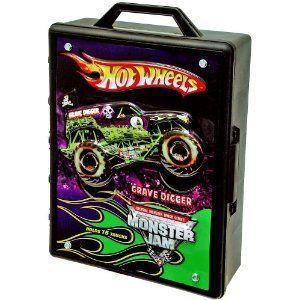 Hot Wheels Monster Jam Truck Carrying Storage Case New