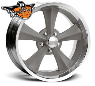 Rocket Racing Wheels Rocket Booster Gray 18x8 5x5 00 4 75 Backspacing