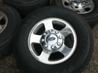 Ford F 250 Wheels Tires Rims Pirelli F250 265 70 17 Alloy Aluminum