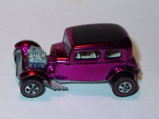 Hot Wheels Redline Classic 32 Ford Vicky Magenta Spectraflame N M