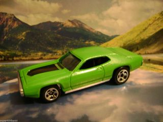 71 Plymouth GTX 2001 Hot Wheels First Editions Series Green