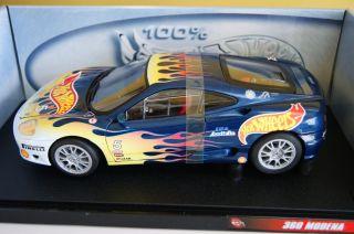 100 Hot Wheels Ferrari 360 Modena 1 18 Large Scale Hot Wheels Racing