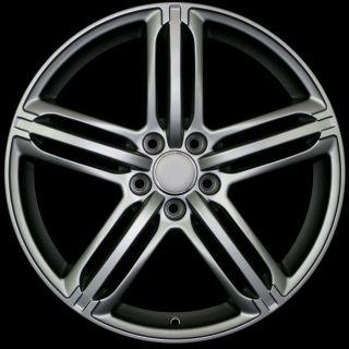 18 s Line Style Matte Gun Metal Rims Fit Audi A7 C7 A8 D2 D3 Allroad