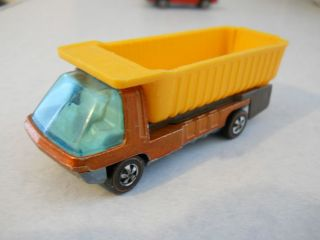 Vintage Hot Wheels Heavyweights Redline Dump Truck Copper HK