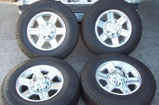 Dodge RAM Truck 2500 3500 2011 17 Polished Wheels and Tires
