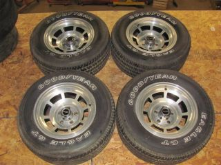 80 81 Corvette Original Alloy Wheels Eagle GT Tires Rims 1980 1981