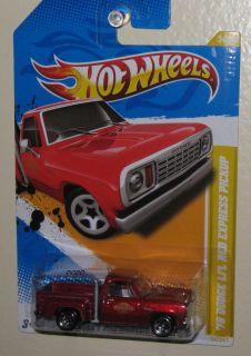 Hot Wheels New Models ★ 78 Dodge Lil Red Express Pickup