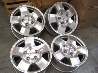 2007   2012 Toyota Tundra 18 inch Alloy wheel OEM will fit Sequoia