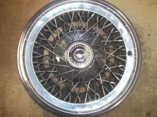 1977 77 1978 78 1979 79 Ford Thunderbird Hubcap Rim Wheel Cover Hub