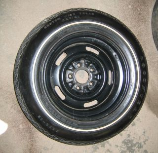74 Corvette Original Spare Tire Wheel 454 Convertible