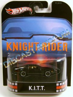 Knight Rider 1984 84 Pontiac Firebird Retro Hot Wheels Diecast