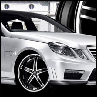 Mercedes Benz C300 C350 E350 E550 Staggered Wheels Rims