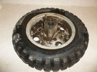 74 Honda Z50 Mini Trail Rear Wheel Rim Tire 50 L104