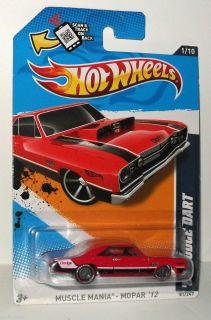 Hot Wheels 2012 Custom Super Treasure Hunts 68 Dodge Dart 81 247