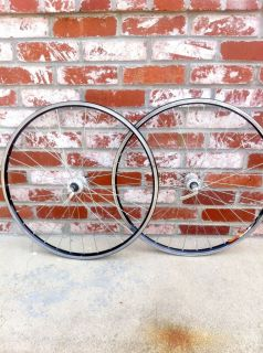 XT M751 Hubs Mavic X517 517 Rims Wheels Wheelset MTB Minty Nice