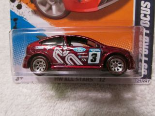 2012 Hot Wheels Super Treasure Hunt 09 Ford Focus Real Riders TH