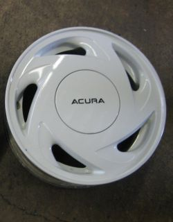 Acura Integra Special Edition Wheels Rims 14 Factory OEM White 14X5.5