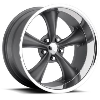 Staggered Boss 338 Gray Wheel Rim 5x5 5x127 14 Jeep Wrangler