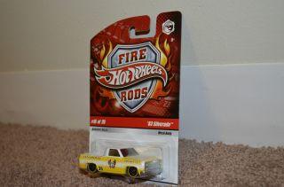 Hot Wheels FIRE RODS 83 Chevy Silverado / VHTF SMALL THAILAND BASE