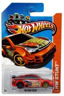 2013 Hot Wheels 84 HW Stunt HW Drift Race 08 Ford Focus