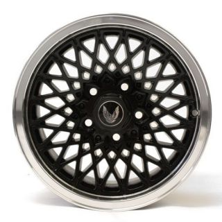 15 Wheels Pontiac Firebird Trans Am Factory 1457 Black Mesh 85 86 87