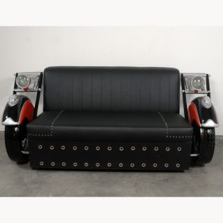Style Motorcycle Biker Couch 79L Harley New Lights Wheels