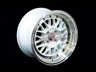 STANCE WHEELS MINDSET GLOSS WHITE POLISH 15X8 4X100 +25 HONDA ACURA