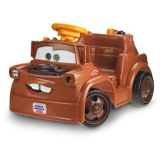 Power Wheels Fisher Price Ride On   Disney Pixar Cars 2   Lil Mater #
