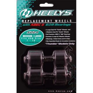 Heelys Replacement Wheel Wheels 2x2 Style Medium Large