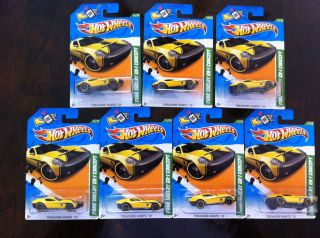 Hot Wheels Treasure Hunt Ford Shelby GR 1 Concept 2012