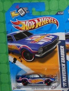 2012 Hot Wheels HW Racing 179 71 Maverick Grabber