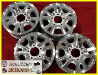 99 00 01 02 Kia Sportage 16 Used Machined Silver Wheels Factory Rims