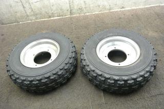 89 Yamaha Banshee YFZ350 YFZ 350 Front Wheel Set Rims Tires Wheels