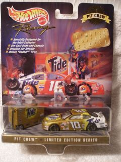 Hot Wheels Racing NASCAR 1998 Limited Edition Pit Crew Tide Rudd