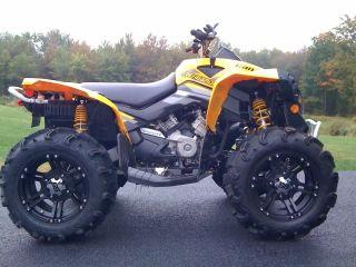 26 Honda Foreman Goodyear ATV Tire 14 SS Wheel Kit Complete Life