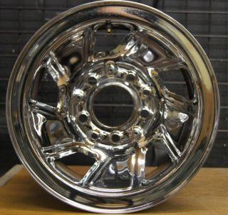 Bronco F150 15 Chrome Steel Factory Wheel Rim 1992 96 3026A 2
