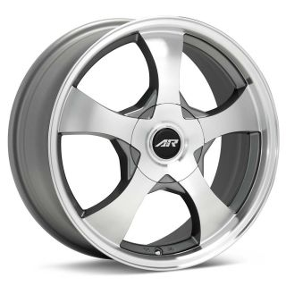15 inch AR85 Silver Wheels Rims 5x115 300C Charger Magnum Challenger