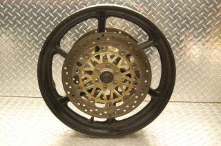 98 Honda CBR 600 F3 Front wheel rim Rotors left right brakes 900rr 17