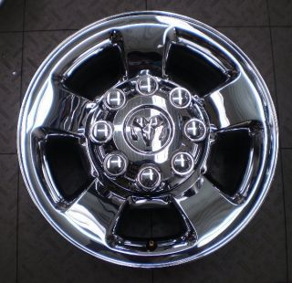 2187 Dodge RAM 2500 3500 17 Factory Chrome Wheels Rims 4